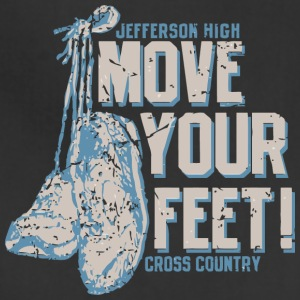 Jefferson High Move Your Feet Cross Country - Adjustable Apron