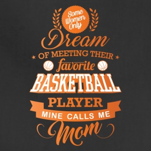 Basketball mom, Proud Basketball mom - Adjustable Apron