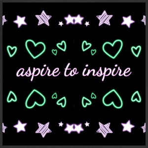 Aspire to inspire - Adjustable Apron