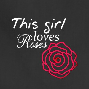 This girl loves Roses - Adjustable Apron