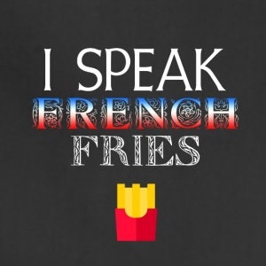 I speak French Fries - Adjustable Apron