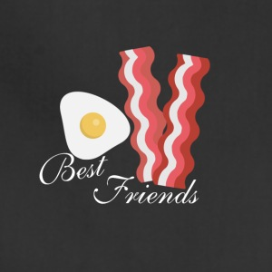 Bacon and Eggs. Best friends - Adjustable Apron