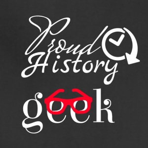 Proud history geek - Adjustable Apron
