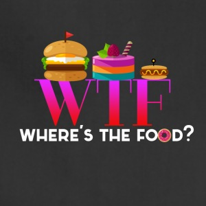 Where's the food? - Adjustable Apron