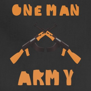 one man army - Adjustable Apron