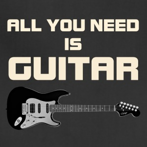 Need guitar white color - Adjustable Apron