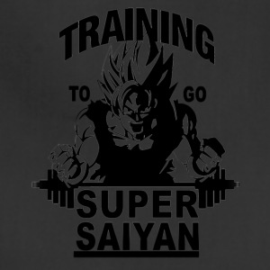 Training to go saiyan - Adjustable Apron
