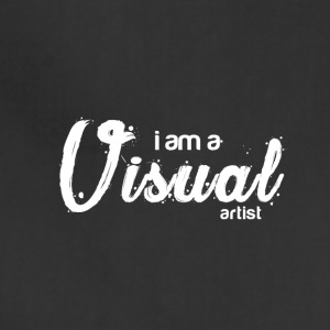 I am a VISUAL artist - Adjustable Apron