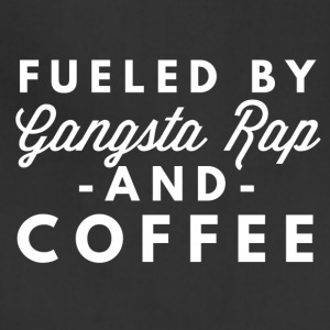 Gangsta Rap and Coffee - Adjustable Apron