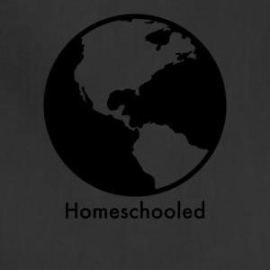 HomeSchooled - Black and White World - Adjustable Apron