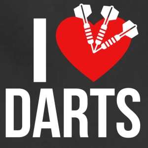 I LOVE DARTS - Adjustable Apron