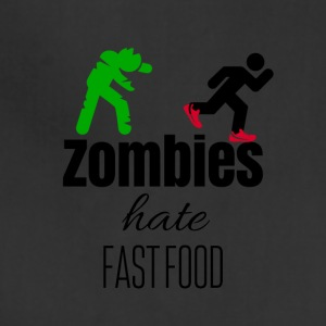 Zombies and fast food - Adjustable Apron