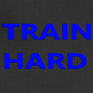 TRAIN HARD BLUE - Adjustable Apron