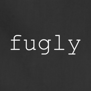 fugly (white) - Adjustable Apron