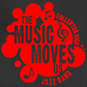 The Music Moves Us Fullerton High Jazz Band - Adjustable Apron