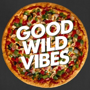 pizza good vibes - Adjustable Apron