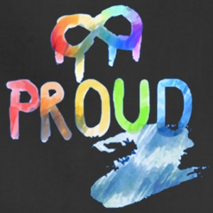 Gay Pride Proud - Adjustable Apron