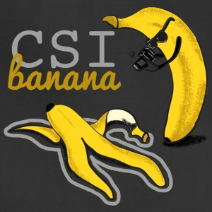 geek funny BANANA csi - Adjustable Apron