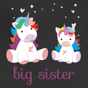 unicorn big sister - Adjustable Apron