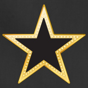 Gold and Black Star - Adjustable Apron