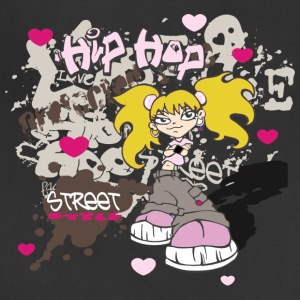 hip hop girl - Adjustable Apron
