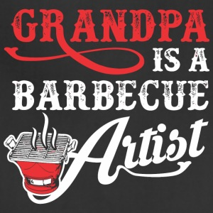 Grandpa Is A Barbecue Artist - Adjustable Apron