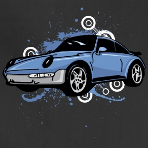 Blue_porsche_911_sportcar - Adjustable Apron