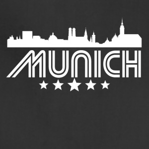 Retro Munich Skyline - Adjustable Apron