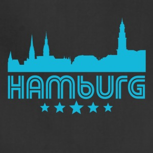 Retro Hamburg Skyline - Adjustable Apron
