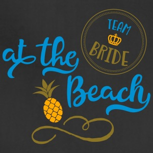 team bride at the beach - Adjustable Apron