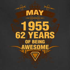 May 1955 62 Years of Being Awesome - Adjustable Apron