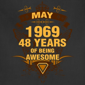 May 1969 48 Years of Being Awesome - Adjustable Apron