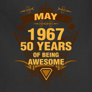 May 1967 50 Years of Being Awesome - Adjustable Apron