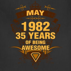 May 1982 35 Years of Being Awesome - Adjustable Apron