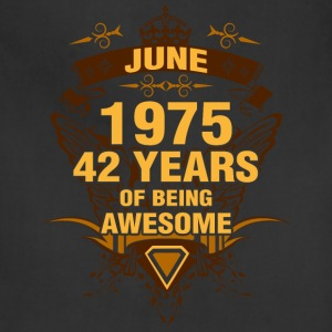 June 1975 42 Years of Being Awesome - Adjustable Apron