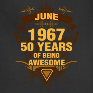 June 1967 50 Years of Being Awesome - Adjustable Apron