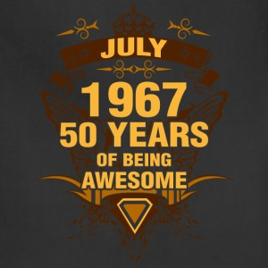 July 1967 50 Years of Being Awesome - Adjustable Apron