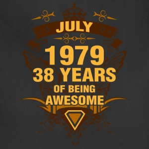 July 1979 38 Years of Being Awesome - Adjustable Apron