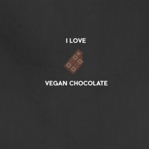 I LOVE VEGAN CHOCOLATE - Adjustable Apron
