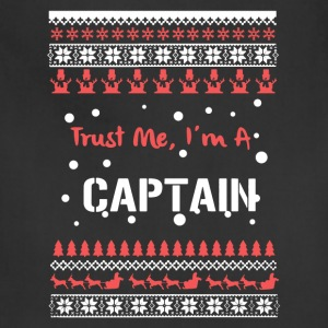 Captain Christmas Shirt - Adjustable Apron