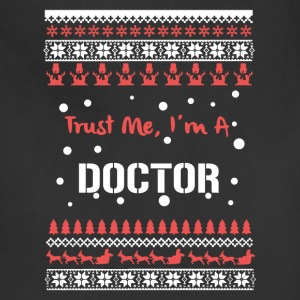 Doctor Christmas Shirt - Adjustable Apron