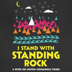 Stand With Standing Rock Shirt - Adjustable Apron