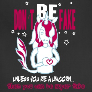 fake unicorn - Adjustable Apron