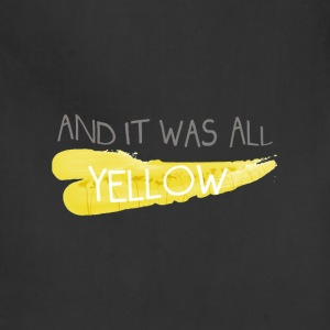 Coldplay - And It Was All Yellow - Adjustable Apron