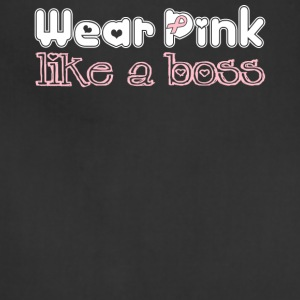 Wear_Pink_Like_A_Boss_2 - Adjustable Apron