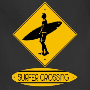 Surfer Crossing - Adjustable Apron
