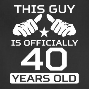This Guy Is 40 Years Funny 40th Birthday - Adjustable Apron