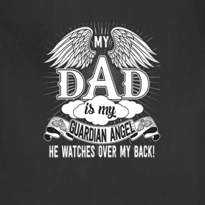 my_dad_is_my_guardian_angel - Adjustable Apron