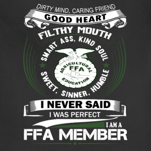 i_am_a_ffa_member - Adjustable Apron