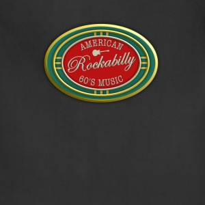 American Rockabilly 60's Music Oval - Adjustable Apron